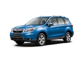 Nieuwe Subaru forester 2015