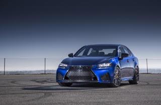 Nieuwe Lexus GS F 2015