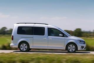 Nieuwe Volkswagen Caddy 2015