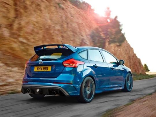 Nieuwe Ford Focus RS 2015