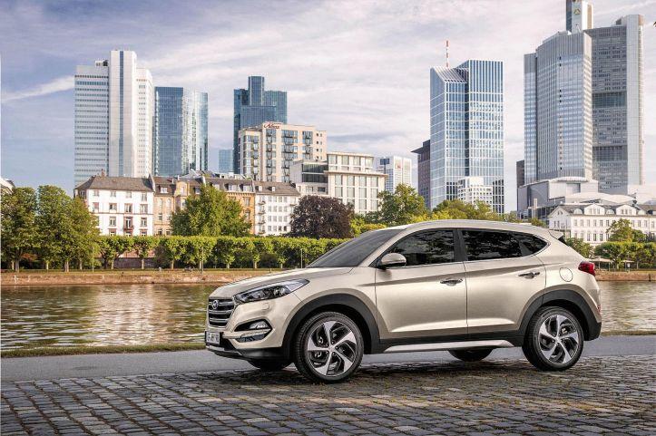 Nieuwe Hyundai Tucson 2015