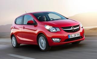 Opel Karl 2015 rood