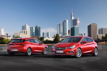 Nieuwe Opel Astra 2015