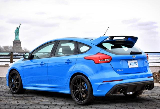 Nieuwe Ford Focus RS
