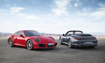 Nieuwe Porsche 911 & Carrera