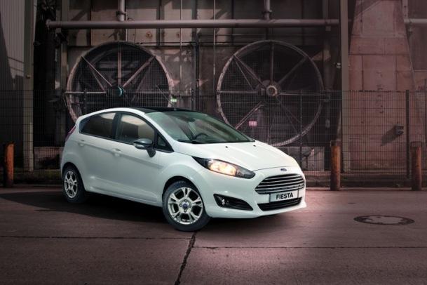 Ford Fiesta White edition