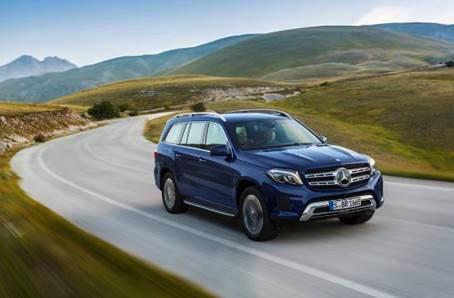 Nieuwe Mercedes GLS 2015 kopen