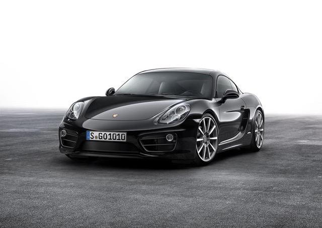 Nieuwe Porsche Cayman Black edition 2015 kopen
