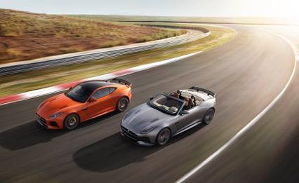 Nieuwe Jaguar F-Type SVR 2016 kopen