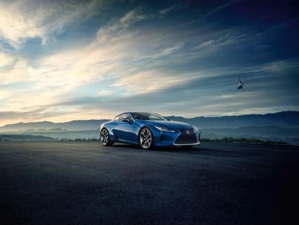 Nieuwe Lexus LC500h 2016 kopen