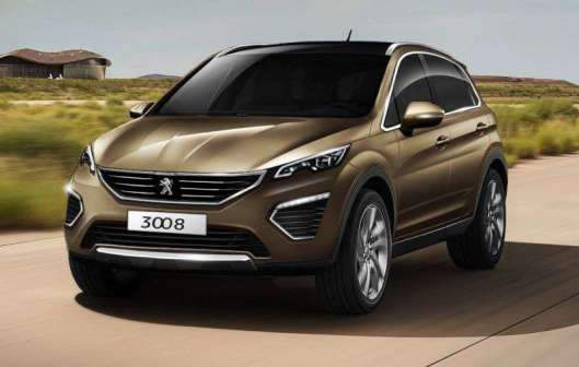 Nieuw design Peugeot 3008 2016