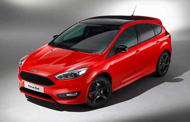 Ford Geneva Focus Red 2016