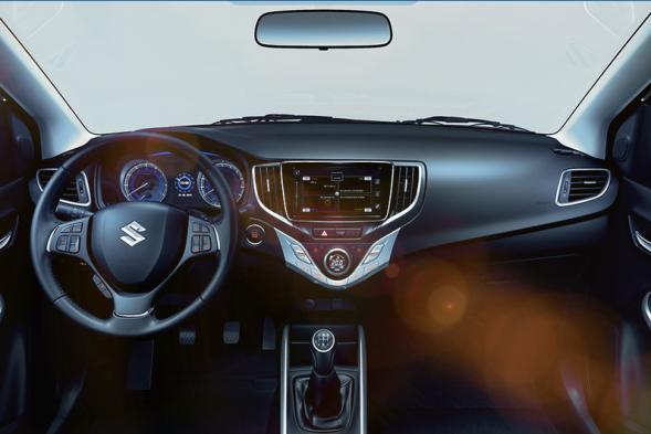 Nieuwe Suzuki Baleno 2016 interieur