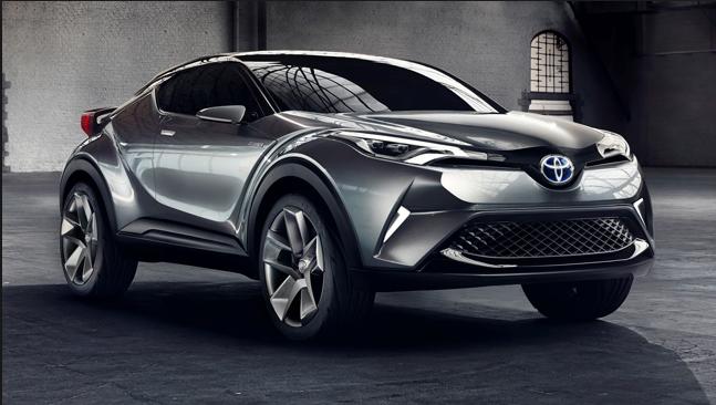 Nieuwe Toyota C-HR