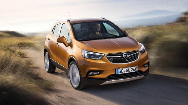 Nieuwe Opel Mokka X 2016