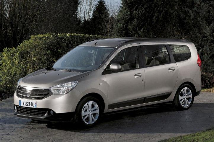 Dacia Lodgy gezin vakantie
