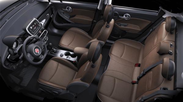 Fiat 500X rijtest interieur