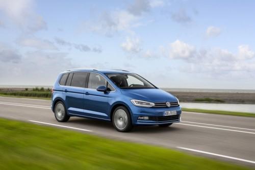 Nieuwe Volkswagen Touran 2016 modellen