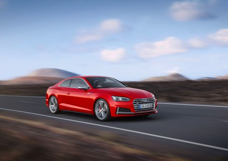 Audi S5 Coupe 2016,  Colour: Misano Red